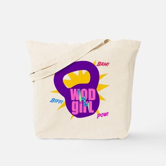 WODGirl Kettlebell Tote Bag