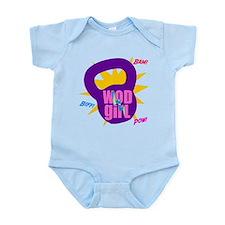 WODGirl Kettlebell Infant Bodysuit