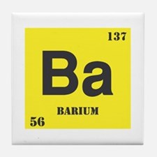 Barium Element Tile Coaster