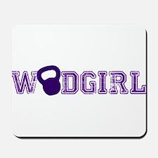WODGirl - Kettlebell Mousepad