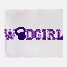 WODGirl - Kettlebell Throw Blanket