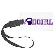 WODGirl - Kettlebell Luggage Tag