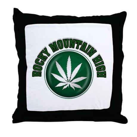 HIGH TIME Throw Pillow