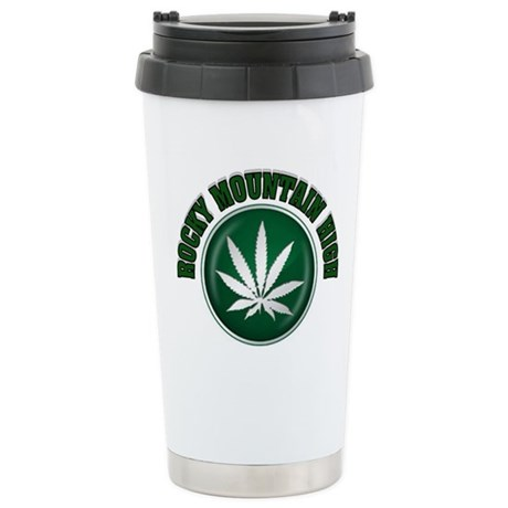 HIGH TIME Stainless Steel Travel Mug