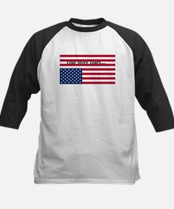 Four More Years of Obama - distress flag Tee