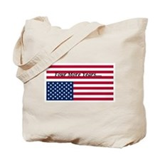 Four More Years of Obama - distress flag Tote Bag