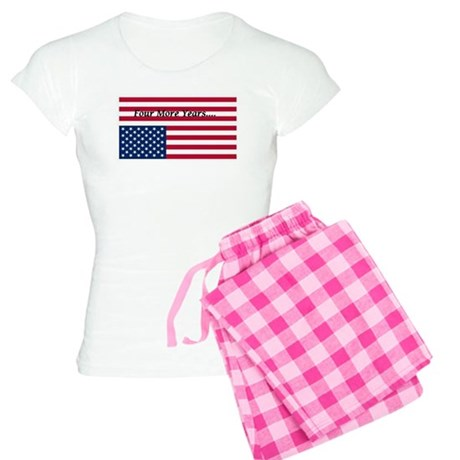 Four More Years of Obama - distress flag Women's L
