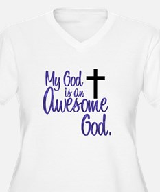 awesomegod Plus Size T-Shirt