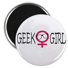 Geek Girl Magnet