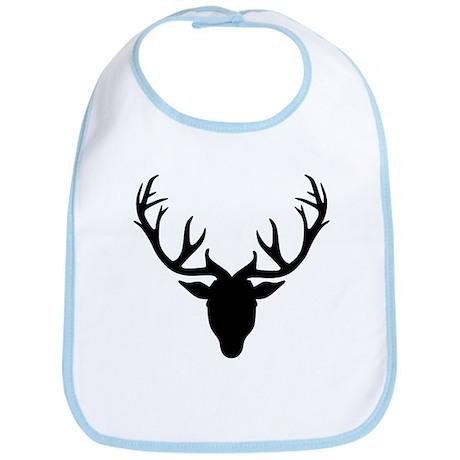 Deer antlers Bib