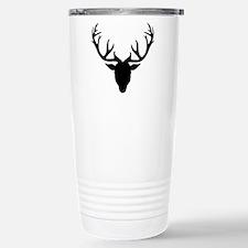 Deer antlers Stainless Steel Travel Mug