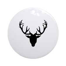 Deer antlers Ornament (Round)