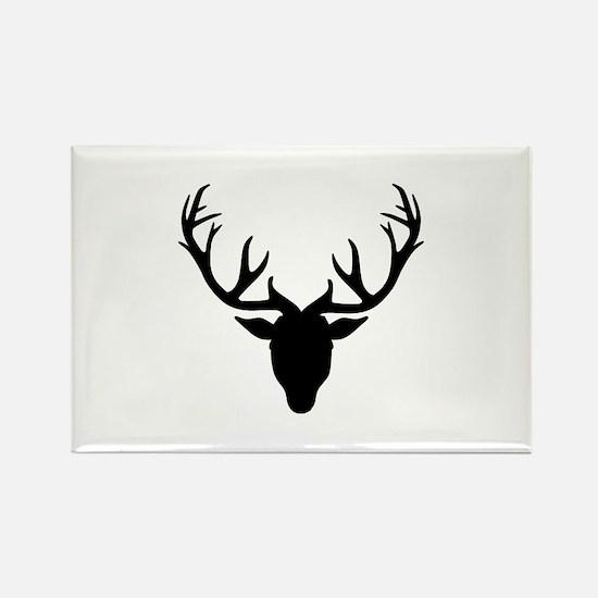 Deer antlers Rectangle Magnet