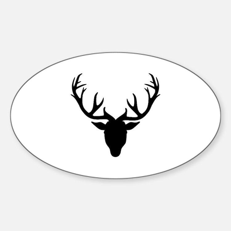 Deer antlers Decal