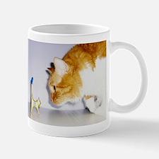 Silly Cat Staring Mug