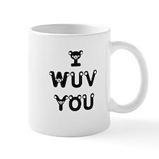 I wuv you Mug