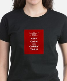 Keep Calm Carry Yarn Tee