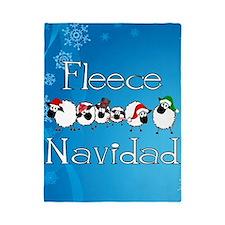 Fleece Navidad Twin Duvet