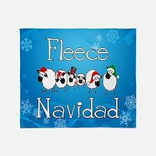 Fleece Navidad Throw Blanket