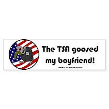 TSA/Boyfriend! Bumper Bumper Sticker