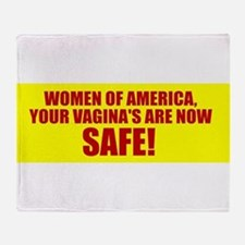 OBAMA ABORTION SHIRT SAFE VAGINA PRO CHOICE TEE S