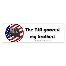TSA/Brother Bumper Bumper Sticker