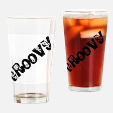 Groovy Drinking Glass
