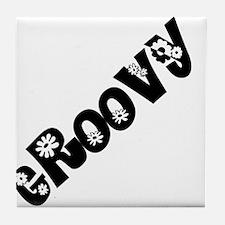 Groovy Tile Coaster
