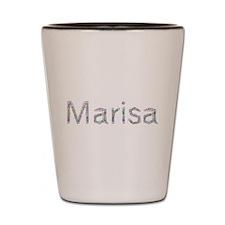Marisa Paper Clips Shot Glass