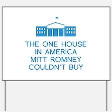 Mitt Romney White House Yard Sign