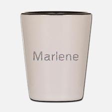 Marlene Paper Clips Shot Glass