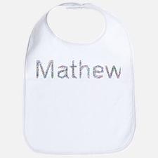 Mathew Paper Clips Bib