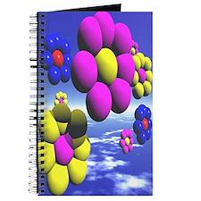 Big 3D Flowers Journal