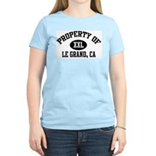 Property of LE GRAND Women's Pink T-Shirt