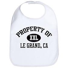 Property of LE GRAND Bib