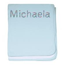 Michaela Paper Clips baby blanket