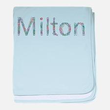 Milton Paper Clips baby blanket