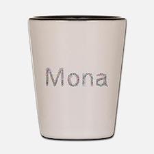 Mona Paper Clips Shot Glass