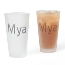 Mya Paper Clips Drinking Glass