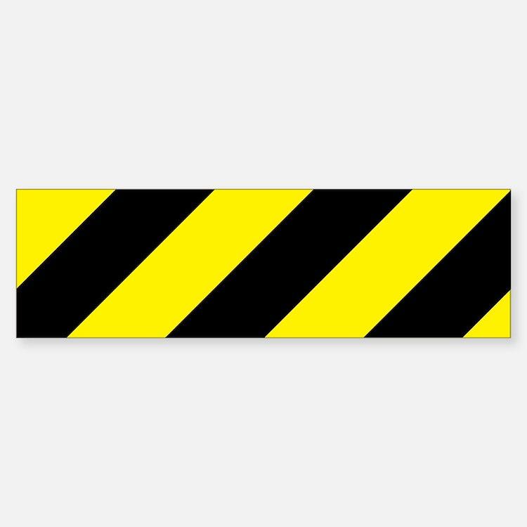 Caution Sticker (Bumper)