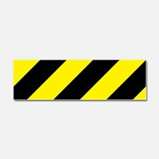 Caution Car Magnet 10 x 3