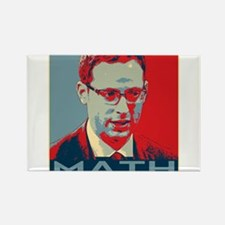 """Nate Silver - """"MATH"""" Rectangle Magnet"""