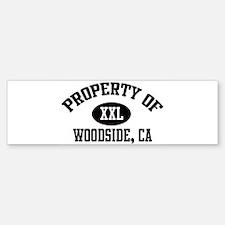 Property of WOODSIDE Bumper Bumper Bumper Sticker