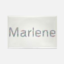 Marlene Paper Clips Rectangle Magnet