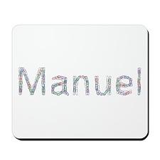 Manuel Paper Clips Mousepad