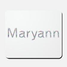 Maryann Paper Clips Mousepad