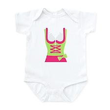 Dirndl Oktoberfest dress Infant Bodysuit