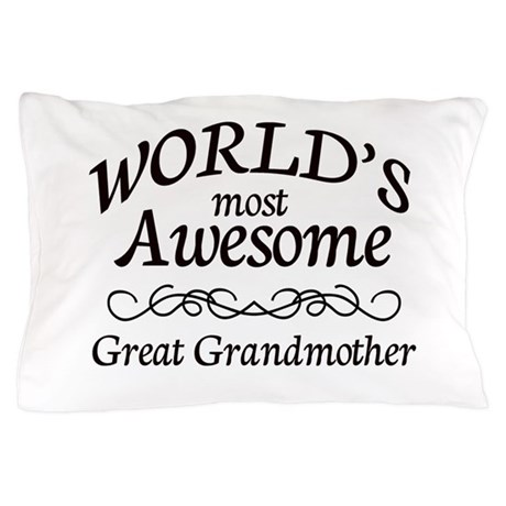 Awesome Pillow Case by SimplyShapes