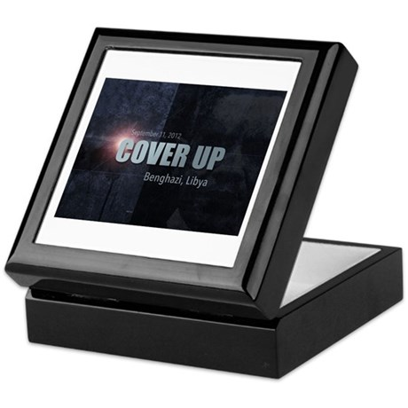 Benghazi Cover Up Keepsake Box