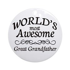 Awesome Ornament (Round)